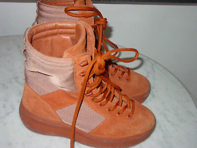 fde46d48752e9 Womens Yeezy Season 3 Burnt Sienna Suede Military Boots! Size 6  650.00