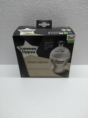 Tommee Tippee Closer to Nature 2 x 260 ml bottles
