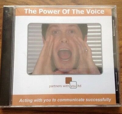 The Power of the Voice cd - an aid to help communication. Free Postage