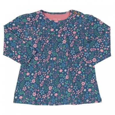 Kite Clothing Organic Cotton Baby Girl's Tunic Top Acorn Ditsy Flower Print
