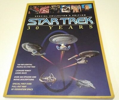 1996 Special Collector's Edition Star Trek 30 years softcover book