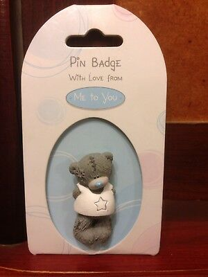 Me To You Tatty Teddy Pin/Badge New