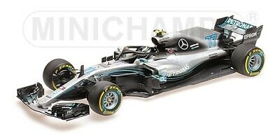 Mercedes Amg F1 W09 Eq Power+ V. Bottas Minichamps 110180077 2018 1/18 Neu Ovp