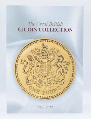 2019 Great British £1 Coin Hunt Collectors Coin Album Gift WHITE Book One Pound