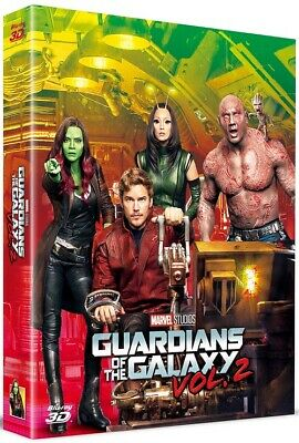 Guardians of the Galaxy Vol.2 Blu-ray 3D Full Slip A1 Steelbook Limited Edition