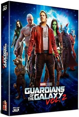 Guardians of the Galaxy Vol.2 Blu-ray 3D Full Slip A2 Steelbook Limited Edition