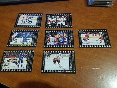 2015-16 UD TIM HORTONS DIE CUTS COMPLETE 15 CARD INSERT SET LOT Crosby Ovechkin