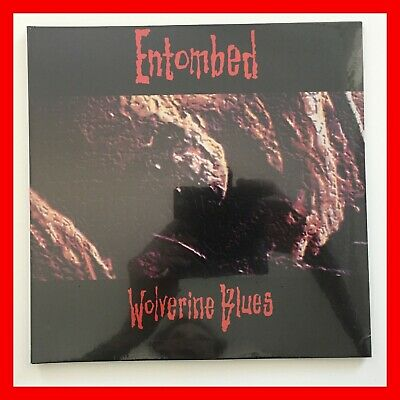 """Entombed Wolverine Blues Double 10"""" Sealed w/ Etching & Poster Bolt Thrower AxCx"""