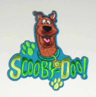 """Hanna Barbera Scooby-Doo Paw Prints Embroidered iron on Patch 4"""""""