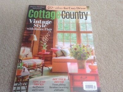 Sensational Cottage Country Magazine Vintage Style Fall 2018 Engaged Home Style Cozy Decor Home Interior And Landscaping Palasignezvosmurscom