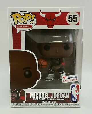 Funko POP NBA Chicago Bulls 55 Michael Jordan Fanatics Exclusive Preorder