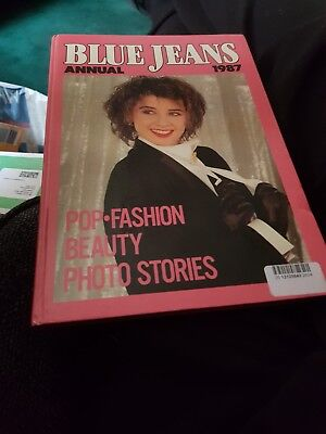 The Blue Jeans Annual 1987 X VERY GOOD CONDITION X 1286 X 1287 X