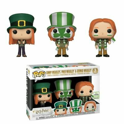 Ginny Fred & George Weasley Funko Pop Harry Potter Quidditch World Cup ECCC 2019