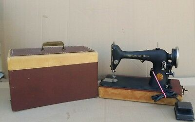 Vintage Singer Manufacturing Co. Sewing Machine Motor 4-110 110 Volts MODEL 66-8