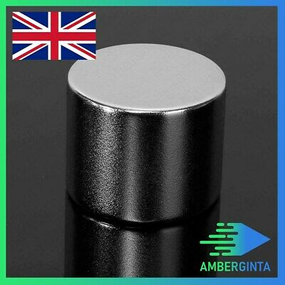 N52 Strong Round Cylinder Magnet 25x20mm Rare Earth Neodymium Magnet UK EU