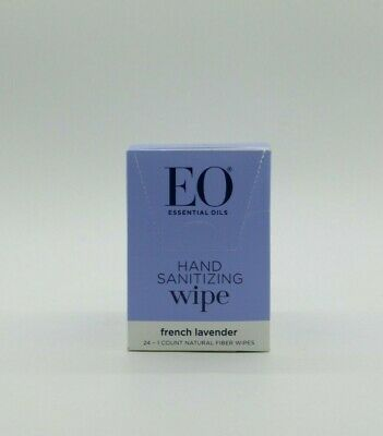Essential Oils - Products Sanitizing Hand Wipes, Lavender.