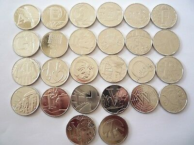 Alphabet A-Z 10P Coins-Uncirculated-All  £1.99  Each-Choose Your Letter