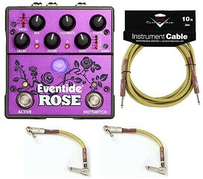 New Eventide Rose Modulated Delay Guitar Effects Pedal!
