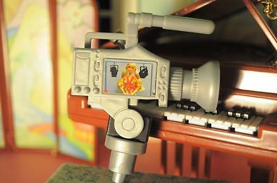 Barbie Anchor Hollywood Camera fits Fisher Price Loving Family Dollhouse Dolls
