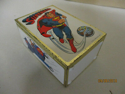 Superman Truhe  Blech  1981