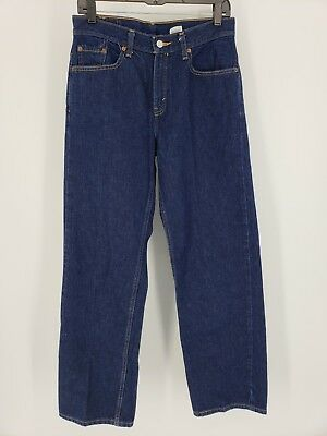 d151968451e Vintage Levis 577 Womens Lower Rise Sz 8 Blue Mom Jeans Loose Fit Straight  Dark