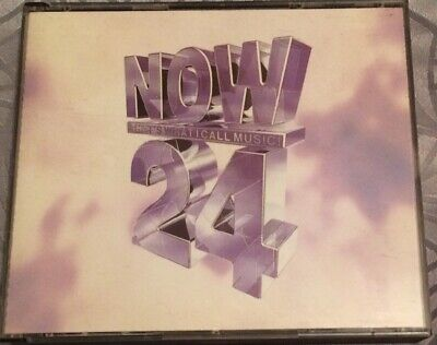 Various Artists : Now Thats What I Call Music! 24 (2 Cd Thick Case Set) VGC.