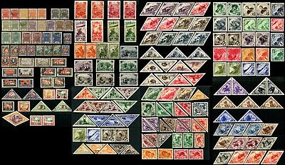 TANNU TUVA TOUVA Russia Mongolia Stamps Postage Airmail Collection Mint Used LH