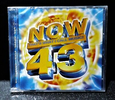 NOW THAT'S WHAT I CALL MUSIC  43 : DOUBLE (CD) Brand New Sealed