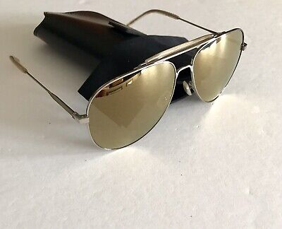 af4594ab4958 Saint Laurent Sunglasses Aviator SL85 Silver Metal Made In Italy New 100%  Auth
