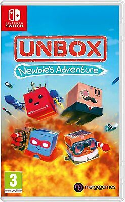 Unbox: Newbies Adventure Nintendo Switch - Region Free - Brand New