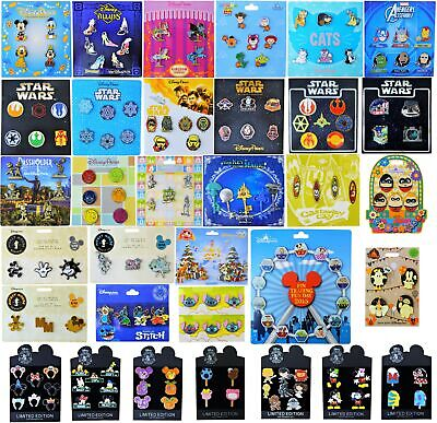 Booster Pack Sets - Assorted Pin Sets on Cards - Guaranteed 25 Pins! Brand NEW
