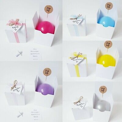 Will you be my Bridesmaid, Godmother etc. Personalised proposal balloon box!