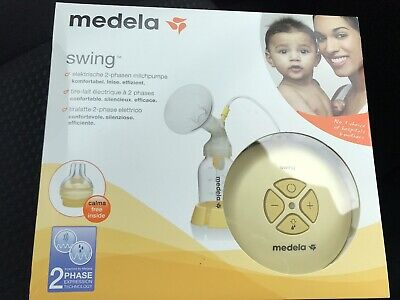 Medela Swing Electric Breast Pump With Calma Brand New Still Sealed RRP £139.99