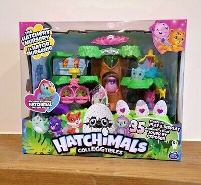 Hatchimals Colleggtibles Hatchery Nursery Animals Egg Playset Enchanted Forest
