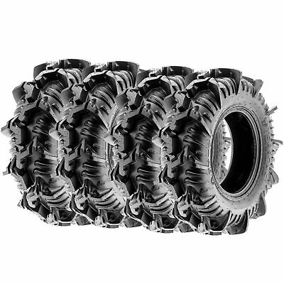 Terache Aztex A/T  Replacement ATV Tires 8 Ply 32x9-14 32x9x14  [Set of 4]