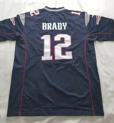 4da0bb69481 New Mens Nike New England Patriots Tom Brady Lii Super Bowl Game Bound  Jersey L