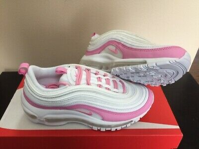545f5118 DS WOMENS NIKE Air Max 24 7 Voltage Cherry Pink Silver 9.5 397292 ...