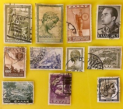 Collection of Greek / Greece Stamps