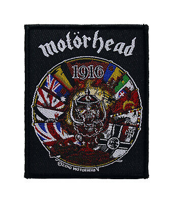 Motorhead Woven Sew On Patch - 1916 Battle Jacket Patch #72