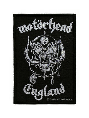 Motorhead Woven Sew On Patch - England Battle Jacket Patch #72