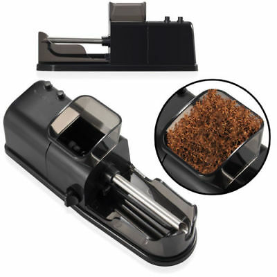 Electric Cigarette Rolling Machine Automatic Injector Maker Tobacco Roller Black