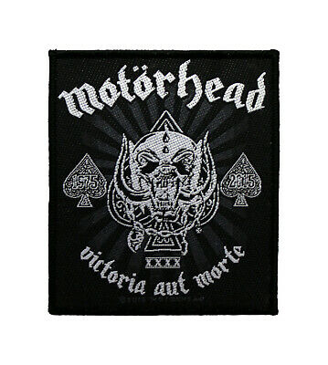 Motorhead Woven Sew On Patch - Victoria Aut Morte Battle Jacket Patch #72