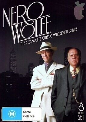 A Nero Wolfe Mystery Complete Series 8-DVD Set Timothy Hutton
