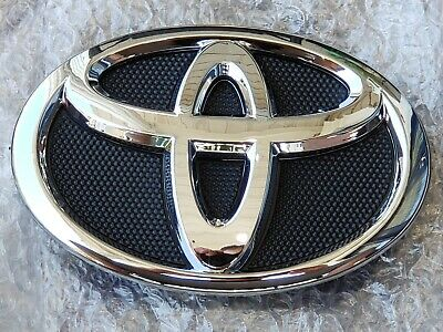 2007 2008 2009 Fits Toyota Camry Emblem Front Hood Grill Black Chrome Grille