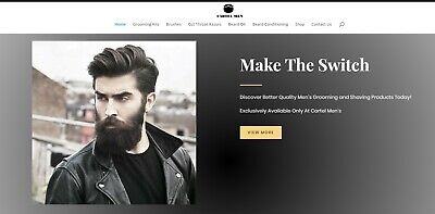 Online Internet Men's Grooming Drop ship Business For Sale Start Selling Today