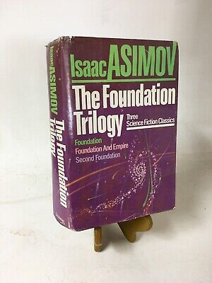 Isaac Asimov - The Foundation Trilogy (1982) - HC w/DJ - Book Club Edition