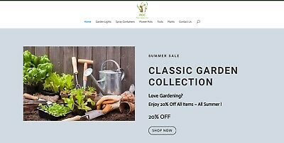 Online Internet Garden Care Drop Ship Business For Sale Start Selling Today