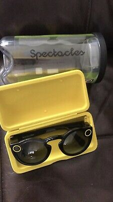 Snap Inc. Snapchat Spectacles 1st Gen Smart Glasses - Black