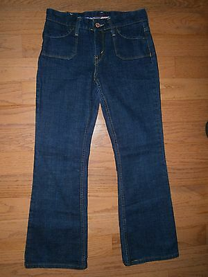 a52498b5039 EUC Womens Levis Genuinely Crafted 515 Boot Cut Jeans 4P/M Low rise Stretch  Blue