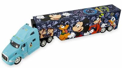 Disney Parks 2019 Peterbilt 387 Hauler Mickey Mouse Die Cast Semi Truck - NEW